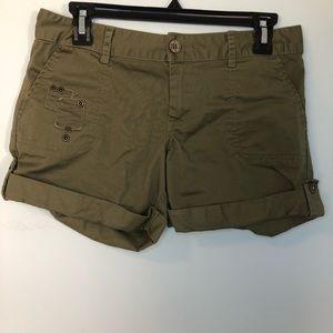 Abbey Dawn Green Cargo Shorts